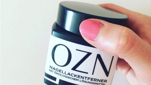 OZN Nagellackentferner: Natürlicher Nagellackentferner im Test