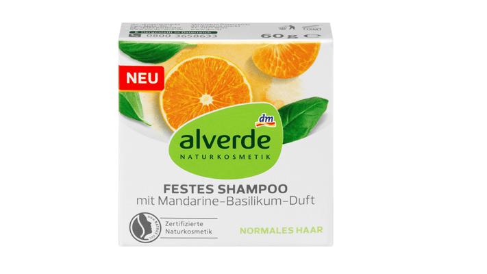 Festes Shampoo: Alverde