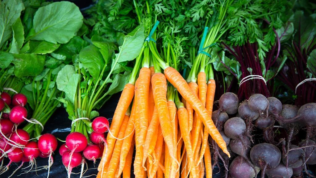 Auch das Grün von Karotten, Radieschen und Roter Bete kann in der Küche verwendet werden und muss nicht entsorgt werden